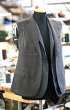 Hand tailored jackets on a mannequin Royalty Free Stock Image