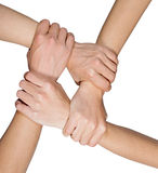 Hand Team Stock Photography