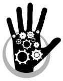 Hand tech Stock Photos