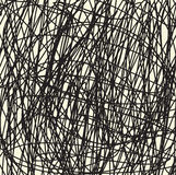 Hand tecknad linje bakgrund vektor illustrationer