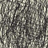 Hand tecknad linje bakgrund Arkivfoton