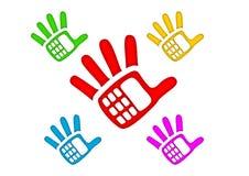 Hand-telefoon Royalty-vrije Stock Foto