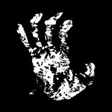 Hand Terrible Royalty Free Stock Photography