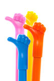 Hand with thumb up, Like symbol Royalty Free Stock Photography
