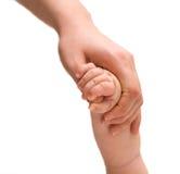 Hand-to-hand stock photo