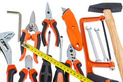 Hand tool selection Royalty Free Stock Image