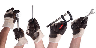 Hand Tool Set 1 Stock Photo