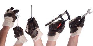 Hand tool set 1 Stock Photo