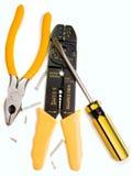 Hand tool set Royalty Free Stock Image