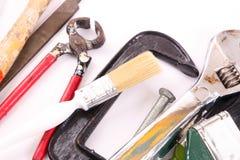Hand tools Royalty Free Stock Photos
