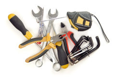 Hand tools stock images