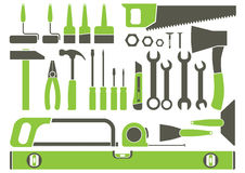 Hand tools vector illustration