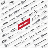 Hand Tools Collection Stock Image