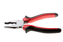 Hand tools. Pliers. Isolated. Stock Photo