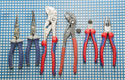 Hand Tools Set Royalty Free Stock Photography
