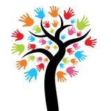 Hand Tree Stock Image