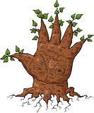 Hand tree Stock Photo