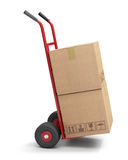 Hand truck royalty free illustration