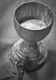 Hand-turned Spalted Maple Chalice Royalty Free Stock Photos