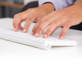 Hand typing Stock Images