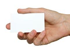 Hand und Cutaway Lizenzfreie Stockfotografie