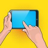 Hand-und Noten-Tablet Lizenzfreies Stockbild