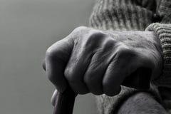 Hand und Stock Lizenzfreie Stockbilder