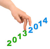 Hand und Treppe 2014 Lizenzfreie Stockfotografie