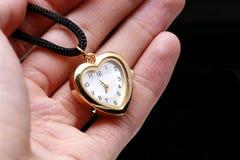 Hand und Uhr Lizenzfreies Stockfoto