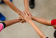 Hand for unity Royalty Free Stock Image