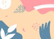Hand utdragna abstrakta Memphis Pattern Textur kan anv?ndas f?r tapeten, modellp?fyllningar, webbsidabakgrund, ytbehandlar textur royaltyfria bilder