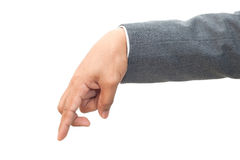 Hand van de bedrijfsmens Stock Afbeelding