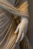 Hand van een beeldhouwwerk Stock Afbeeldingen