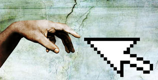 Hand van godsdeel 3 Royalty-vrije Stock Afbeelding