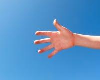 Hand van kind Stock Afbeelding