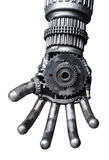 Hand van Metaal CY-ber of robot royalty-vrije stock afbeelding