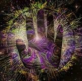 Hand van Schepper vector illustratie