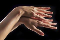 Hand van vrouw Royalty-vrije Stock Afbeelding
