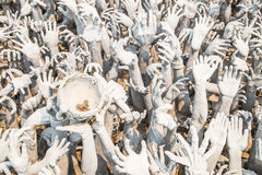 Hand vom Höllenleiden Lizenzfreies Stockbild