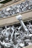 Hand vom Höllenleiden, bitten um Hilfe bei Rongk Lizenzfreies Stockfoto