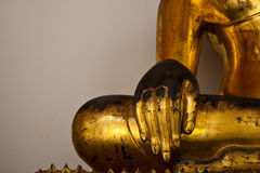 Hand von Buddha Lizenzfreies Stockbild