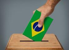 Hand voting. stock photo