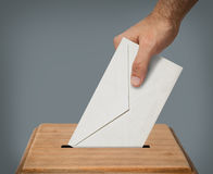 Hand voting. Stock Photos