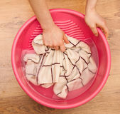 Hand wash Stock Photos