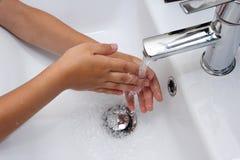 Hand Washing Stock Images