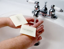Hand Washing Stock Photo