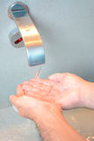 Hand washing. Healthcare and hygienic concepts royalty free stock photography