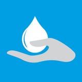 Hand washing icon Stock Photos