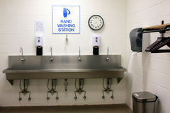 Hand Washing Station Stock Image