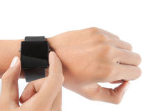 Hand watch Stock Photo